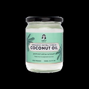 Anvi Earth Organic Extra Virgin Coconut Oil (500 ml)